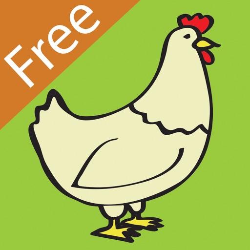 Jump See Farm Free Icon