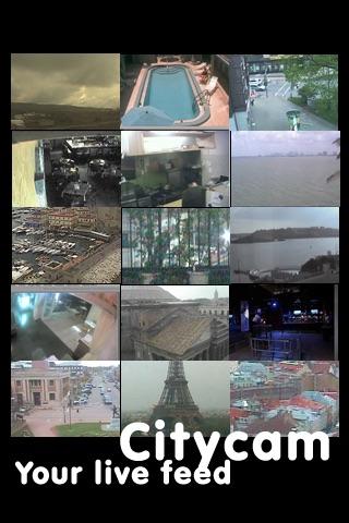 City Cam - Live feeds screenshot 2