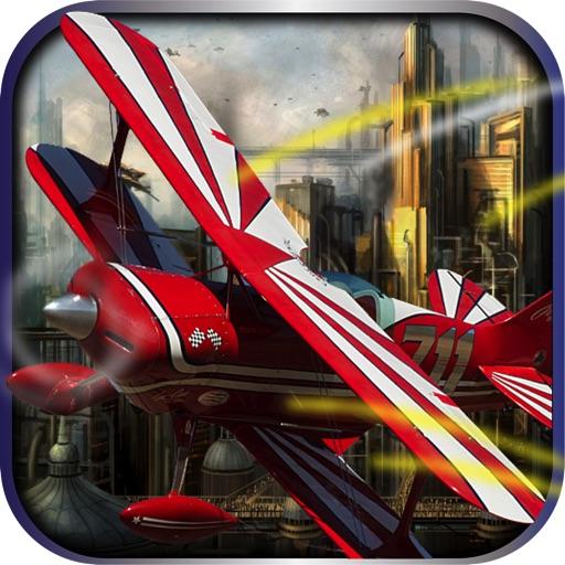Plane Down Air-Turnament racing flight simulator iOS App