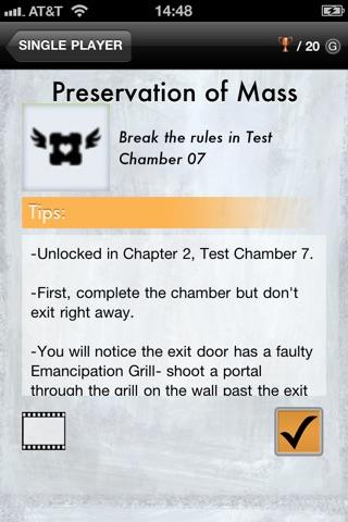 Portal 2 Unlocks screenshot 2