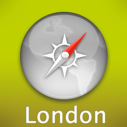 伦敦自由行旅游地图