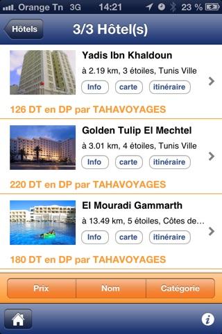 Tahavoyages.comCapture d'écran de 2