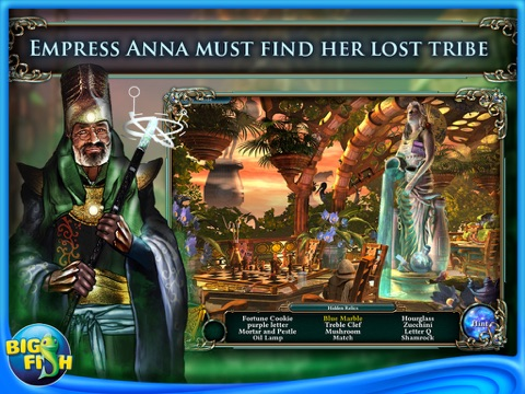Empress of the Deep 3: Legacy of the Phoenix HD - A Hidden Object Adventure screenshot 1