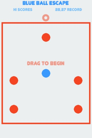 Blue Ball Escape screenshot 1