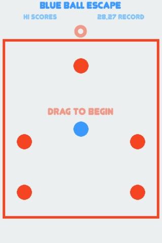 Blue Ball Escape screenshot 1
