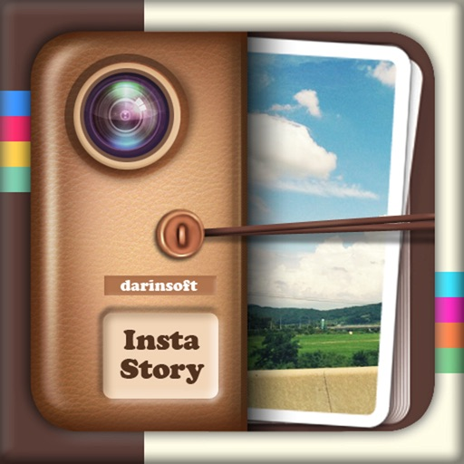 InstaStory Free - Easy create your own unique photo collage , photo frame iOS App