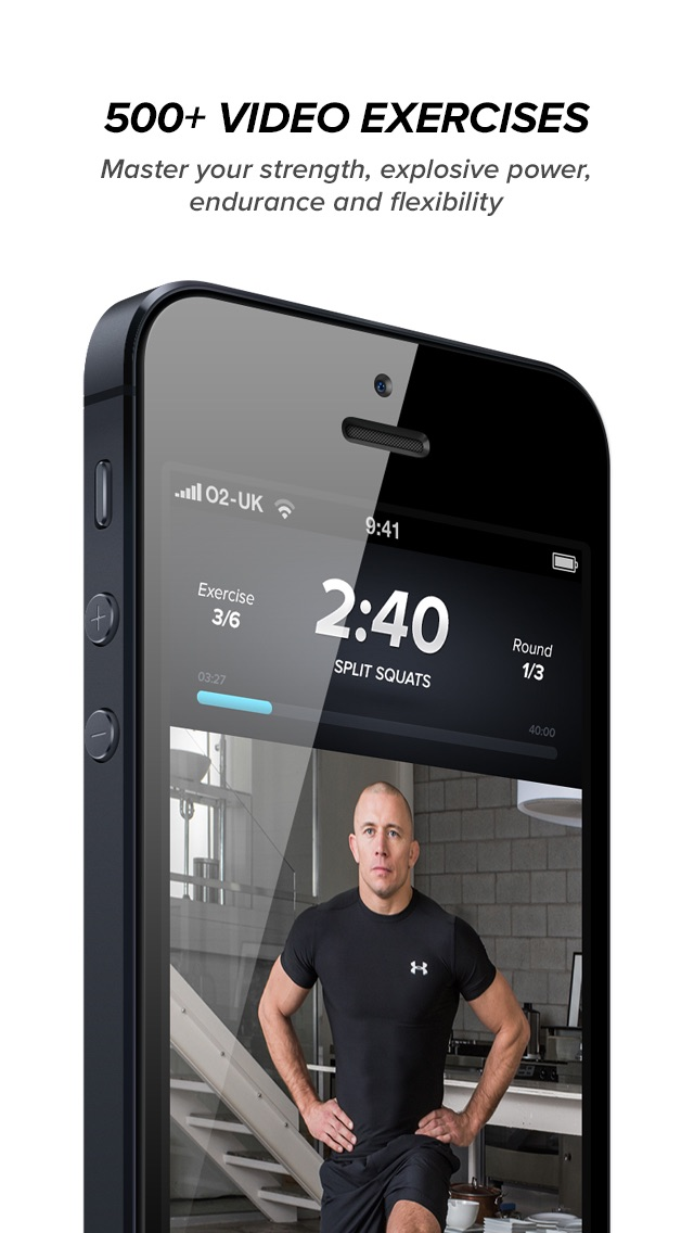 Touchfit gsp the complete home fitness solution app