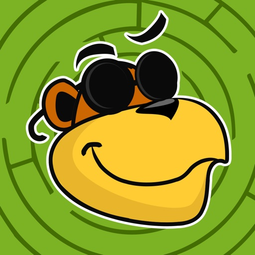 Labyrinth Coloring Book & Learning Game for small children: Cool Animals Maze iOS App