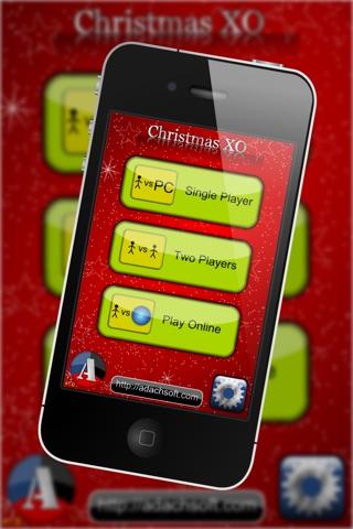 Christmas XO - Classic Tic Tac Toe Game, Candy Canes vs Sweet Donuts screenshot 2