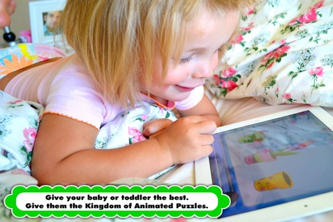 Animated Puzzle Game with Animals and Vehicles for Toddler and Preschool Kids by Abby Monkey® screenshot 2