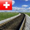 Swiss Railway Map