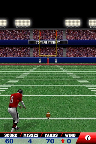 Field Goal Frenzy™ Football - The Classic Arcade Field Goal Kicking Game screenshot 4