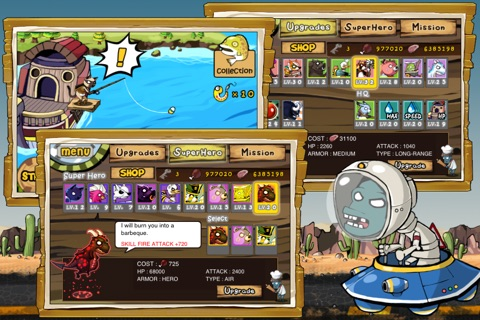 9Heroes Defence : Zombie Invasion Screenshot