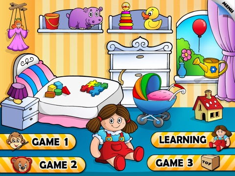 Abby Monkey® Toys for Kids: Preschool learning activity games screenshot 1