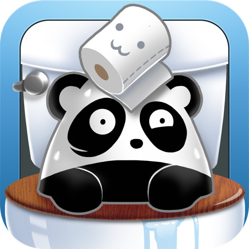 Fun Toilet Games: Panda Adventures iOS App