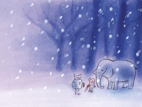 Vrolijk kerstfeest, meneer Big! Screenshot