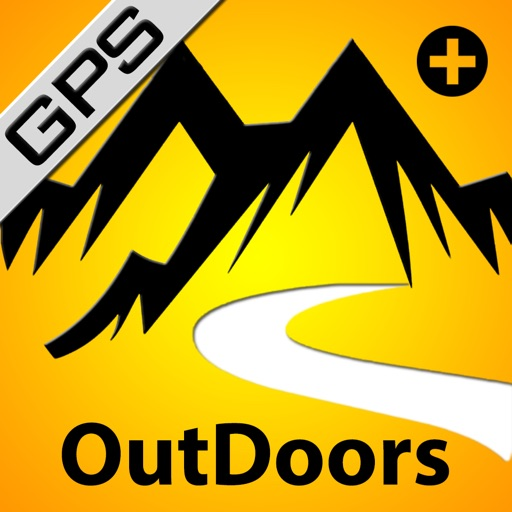 OutDoors Multi Map+ GPS for Hiking, Biking, Skiing & Exploring