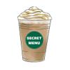 Secret Menu Starbucks Edition - Coffee, Frappuccino, Macchiato, Tea, Cold, and Hot Drinks Recipes