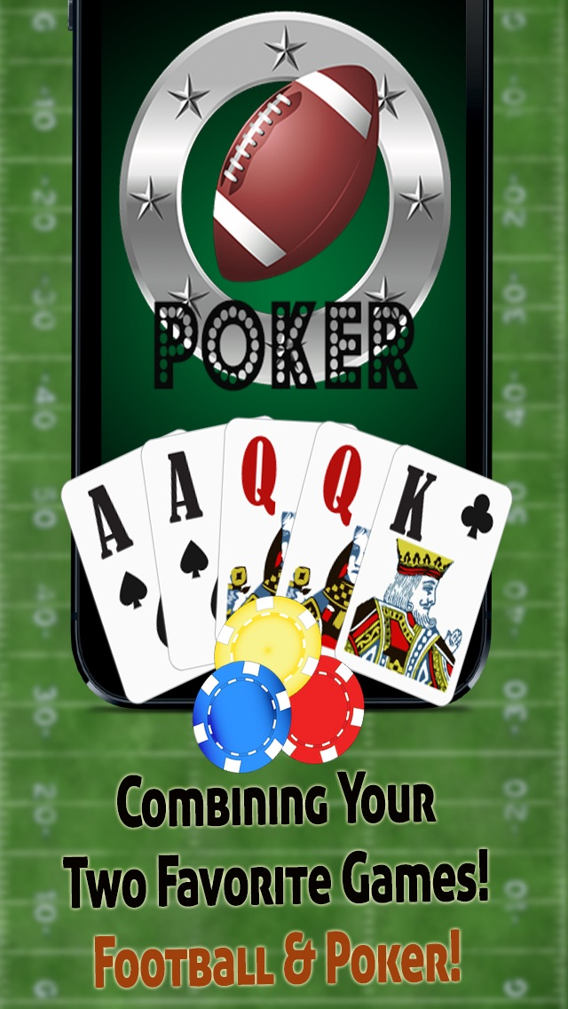 Football's Halftime Video Poker - Шесть Fun-Вегас Стиль Карточные игрыFootball's Halftime Video Poker - Six Fun Vegas Style Card GamesСкриншоты 1