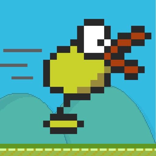 Flappy Runner: Really speedy wings iOS App