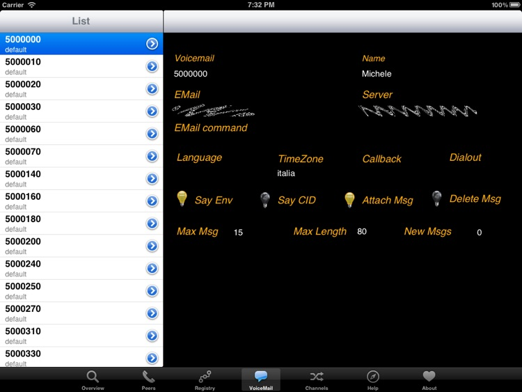 Asterisk Manager HD by Michele Nasoni