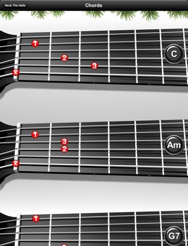 Guitar Learning Christmas Playalongs Screenshot