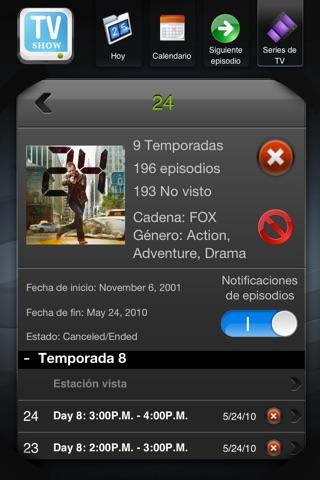 TV Shows screenshot 3