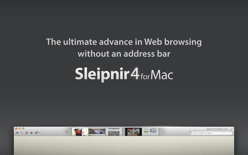 Sleipnir Browser Screenshot