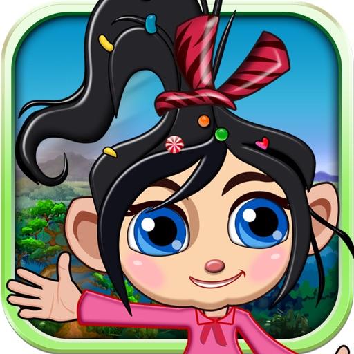 Hair Girl Jump iOS App