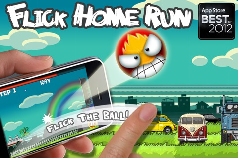Flick Home Run ! screenshot 1
