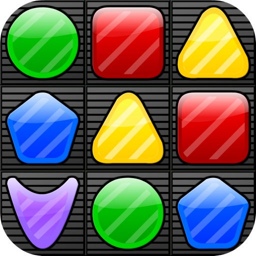 Shape Matcher Free - The Best Swap & Match-3 Puzzle Mania iOS App