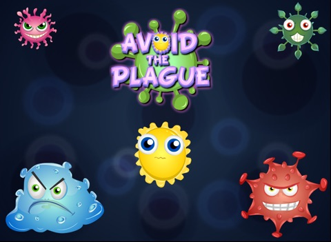 Avoid the Bacteria Plague HD - Virus Apocalypse Pandemic Puzzle screenshot 1