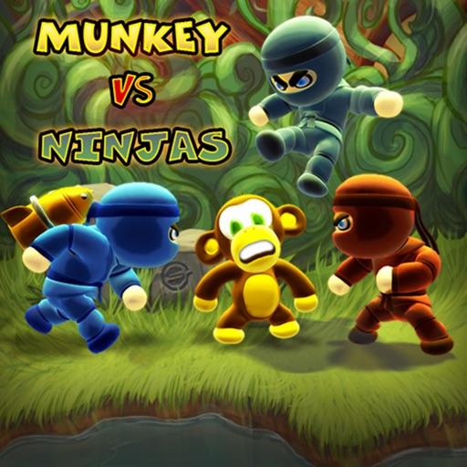 猴子大战忍者:Munkey Vs Ninjas【新奇塔防】