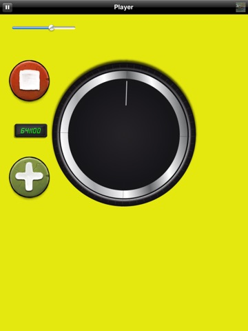 Big Volume Wheel for iPad (w/Mute) screenshot 1