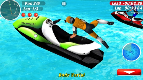Aqua Moto Racing 2 Screenshot