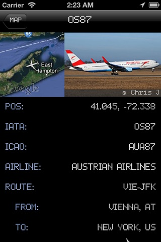 iPlane 2 - Flight Info + Status + Radar Tracker screenshot 4