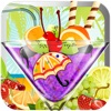 多汁的冰沙機 - 兒童準備使自己的雪泥冰沙冰塊和豐富多彩的果汁口味像(橙,芒果,葡萄,香蕉,草莓,櫻桃,西瓜)