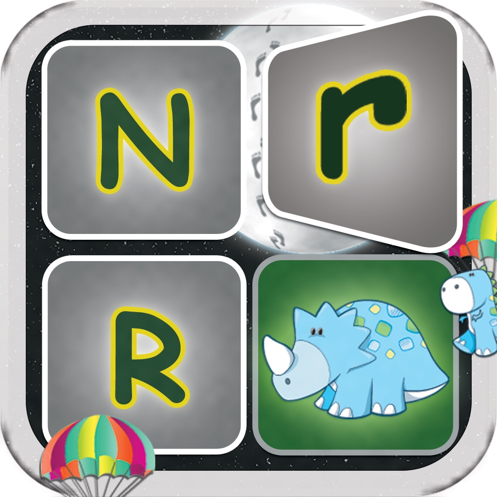 Letters, Numbers, Shapes and Colors Card Matching Game