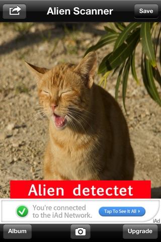 Alien Scanner FREE screenshot 4