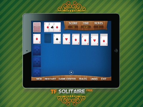 TF Solitaire Cards Game HD free screenshot 2
