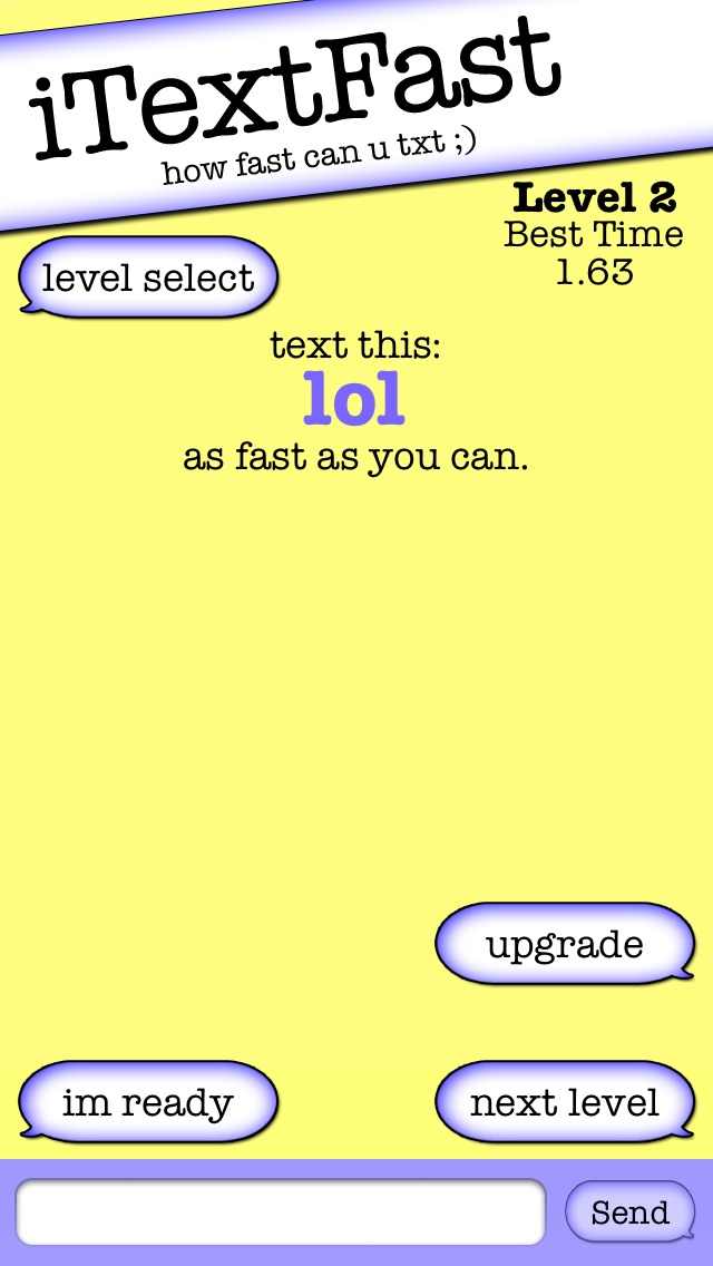 download iTextFast Free - The best free texting speed typing test apps 3
