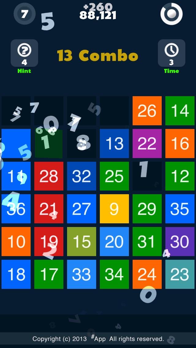 数字を見つける 1TONのスクリーンショット2