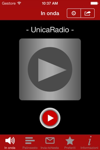 UnicaRadio screenshot 2
