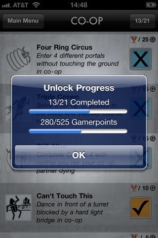 Portal 2 Unlocks screenshot 4