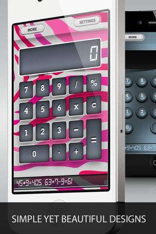 Cool Pocket Calculator Free screenshot 4