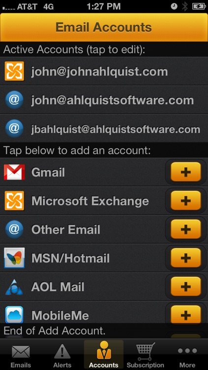 iPriorityMail Pro - Instant Email Notification by Ahlquist Software