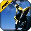 Moto Race Bike - Race with Motorcycle Rider Speeding Through Highway