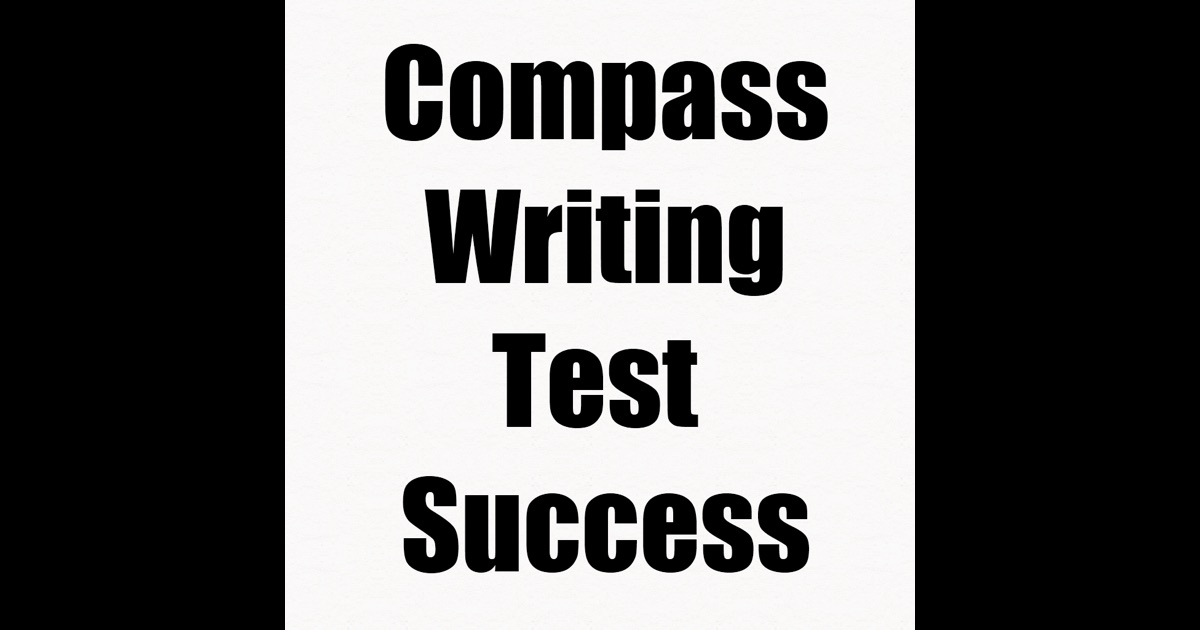 compass practice writing test