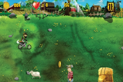 Barnyard Dirt Bike Moto X Racing - An action packed farmland dirtbike and motocross game screenshot 4