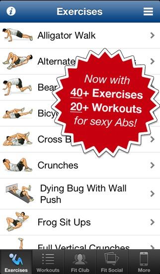 Ab Workouts Pro Screenshot 1